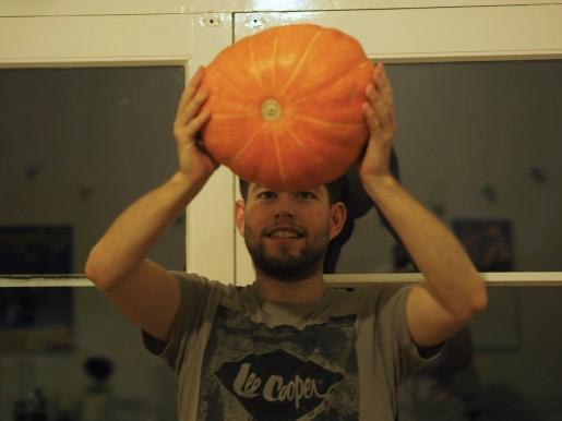 pumpkin, pumpkin soup, blog, recipe, grow your own, gyo, allotment, food, Halloween, meal, October